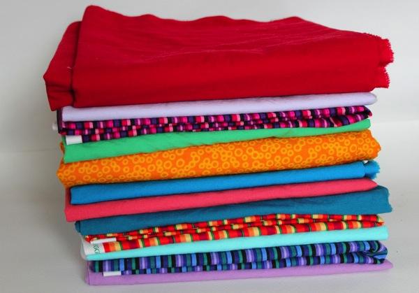 Resized fabric