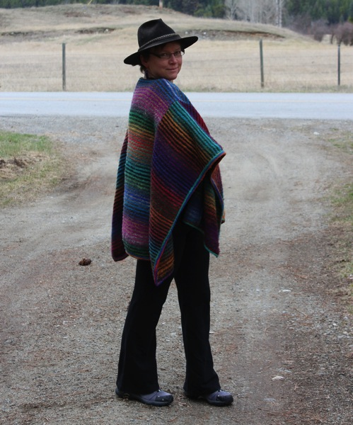 Poncho and hat