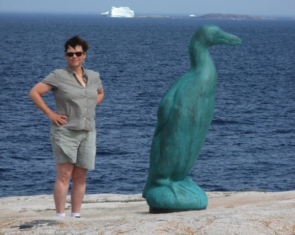 Me and great auk