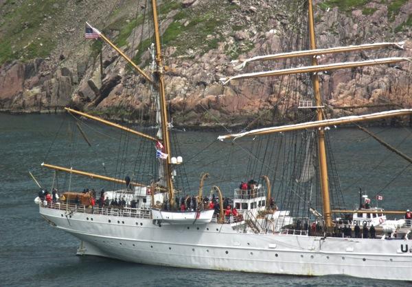 Tall ship stern