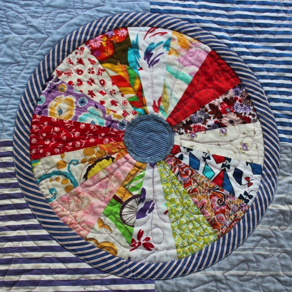 Plate quilting