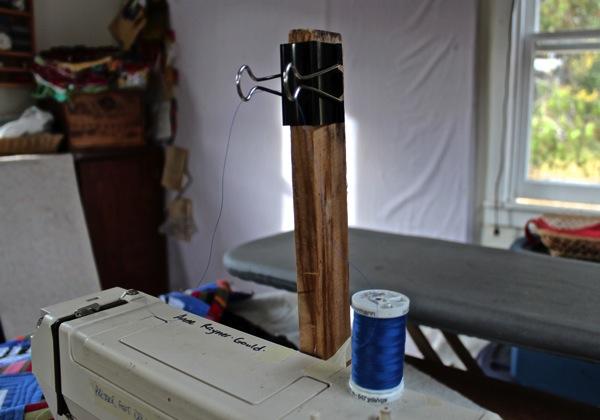 Improv thread holder