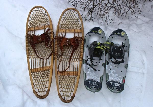 Snowshoes comparison
