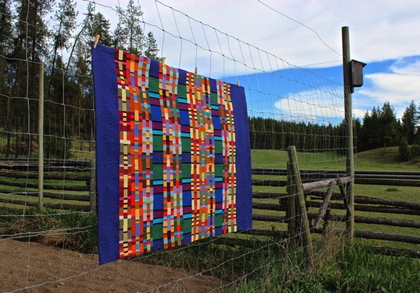 Quilt and field