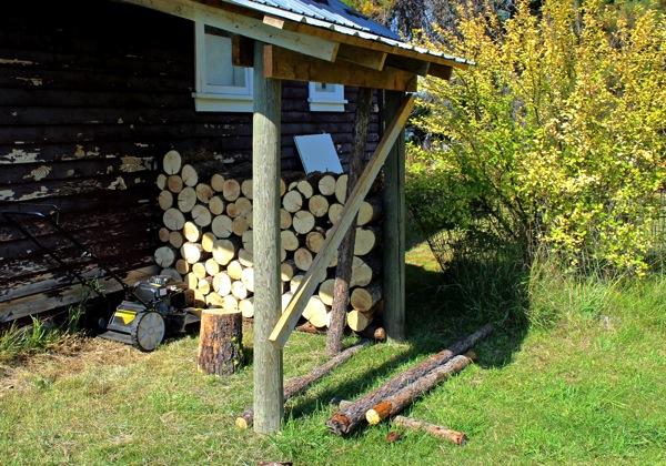 Studio woodshed