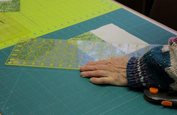 Cutting on diagonal
