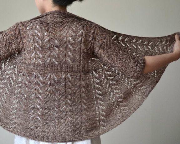 Finished cardi pattern photo