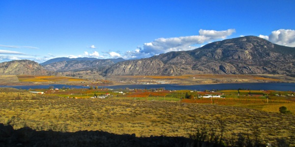 Osoyoos lake 3 nov 2014