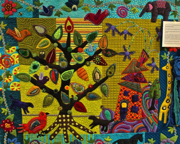 Wild wool applique
