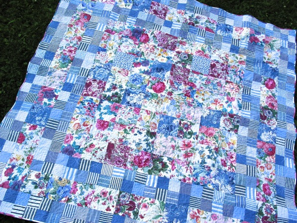 Wendy s floral quilt 3