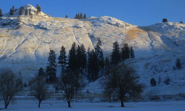 Snowy hills 2
