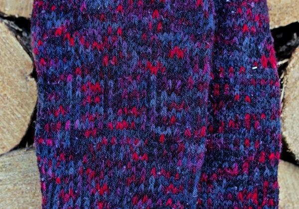 First socks closeup