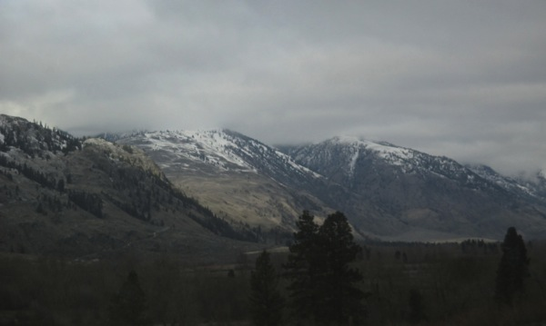 Hills above similkameen