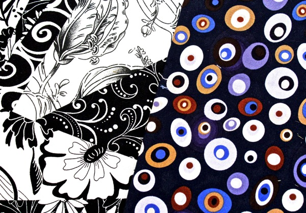 B w s purple circles closeup