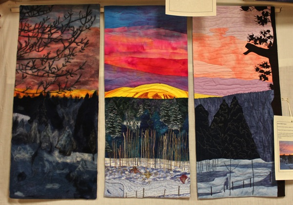 Mount baldy triptych