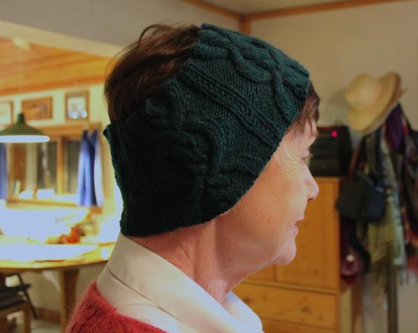 Wearing headband