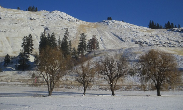 Snowy hills 3